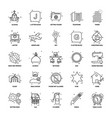 25 business concept mix line icon set vector image vector image