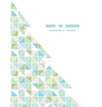 colorful pastel triangle texture christmas tree vector image