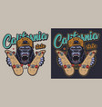 colorful skateboarding badge vector image vector image