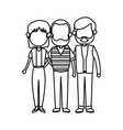 family parent and grandparents together character vector image vector image