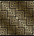 geometric pattern - seamless luxury gold vector image