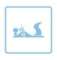 jack-plane tool icon vector image