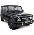 Mid size luxury SUV vector image