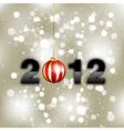 new year background 2012 vector image vector image