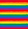 rainbow striped seamless pattern lgbt flag vector image vector image