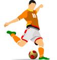 al 0942 soccer 01 vector image vector image