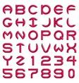 AlphabetSet vector image vector image