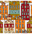 amsterdam pattern with old historic buildings vector image vector image