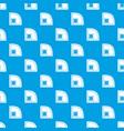 baseball field pattern seamless blue vector image vector image