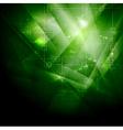Dark technology backdrop vector image vector image