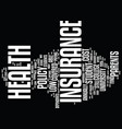 find low cost student health insurance you can vector image vector image