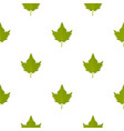 green currant leaf pattern seamless vector image vector image