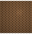 Hexagon Metal Background vector image vector image