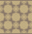 oriental seamless pattern - korean japanese or vector image vector image