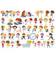 set children character vector image vector image