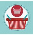 shopping cart buy vector image