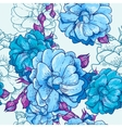 Beautiful Seamless Floral Background vector image vector image