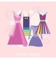 Fashion Design vector image