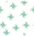 Floral green seamless pattern vector image vector image