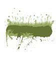 Grunge grass silhouettes