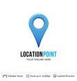 map location pointer vector image vector image