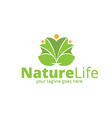 Nature Life Logo vector image vector image
