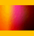 red pink yellow background vector image vector image
