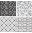 set of lace 2 vector image vector image