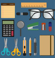 Stationery elements set