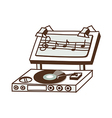 A record player vector image vector image