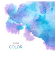 abstract colorful background brush paint blue and vector image vector image