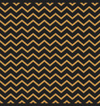 chevron seamless pattern background gold vector image