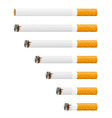 cigarette 03 vector image vector image