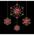 Jewelry pendants vector image vector image