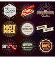 Premium discount vintage badges