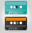 Retro Cassettes vector image vector image