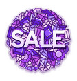 sale background vector image vector image