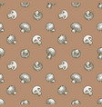 seamless pattern hand drawn vector image