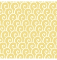 Seamless pattern with abstract doodle curly vector image vector image