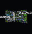 temporary teen job agencies in phoenix text vector image vector image