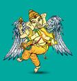 with ganesha vector image vector image