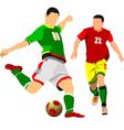 al 0942 soccer 07 vector image vector image