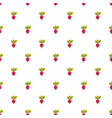 beet pattern seamless vector image vector image