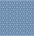 blue geometric pattern with linear elements vector image vector image