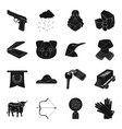 clothing mine transport and other web icon in vector image vector image