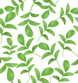 leaf pattern background vector image vector image