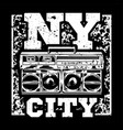ny city vector image
