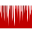 White stripes on red background vector image vector image