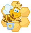 Cartoon bee hive