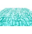 cybersecurity of big data algorithm cyberspace vector image